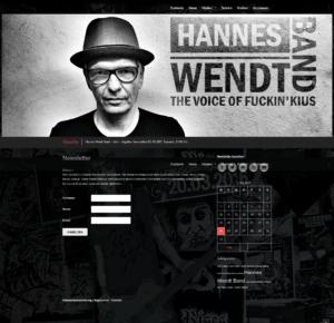 Hannes Wendt Band - Newsletter